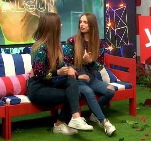 Twin Melody en 'yu Music' con Lorena Castell