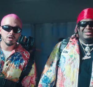 J Balvin y Sech en el videoclip de 'La Luz'