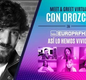 Meet & Greet con Orozco en Europa FM