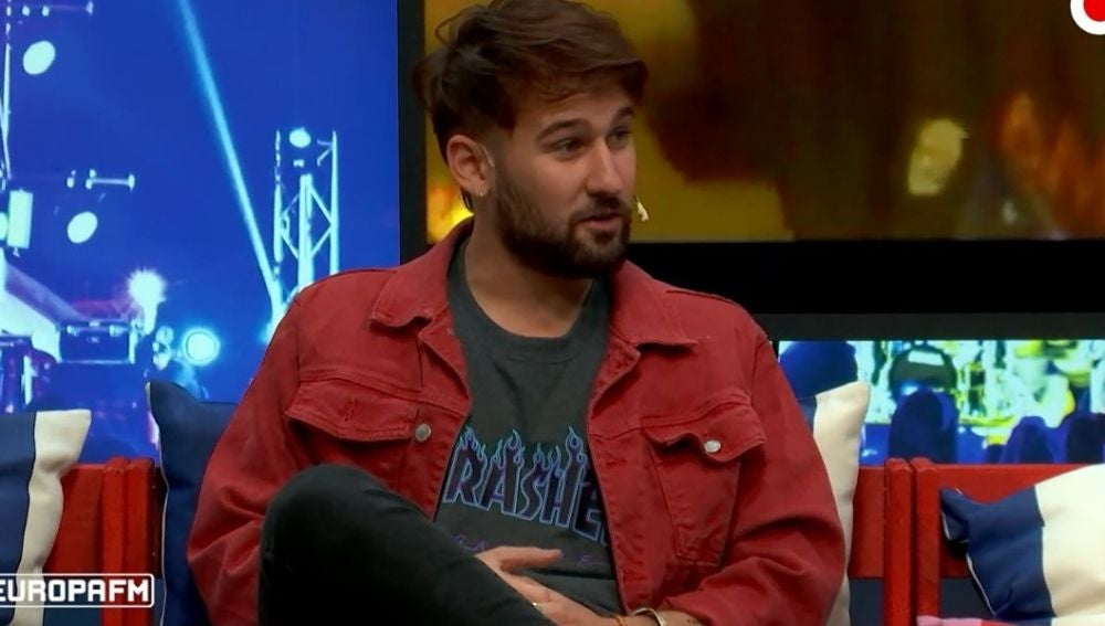 Dani Fernández en 'yu Music'