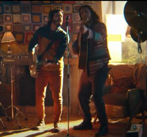 Morat en el videoclip de 'Al Aire'