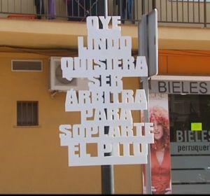 Campaña de El Verger en Alicante sobre el mal gusto de los piropos.