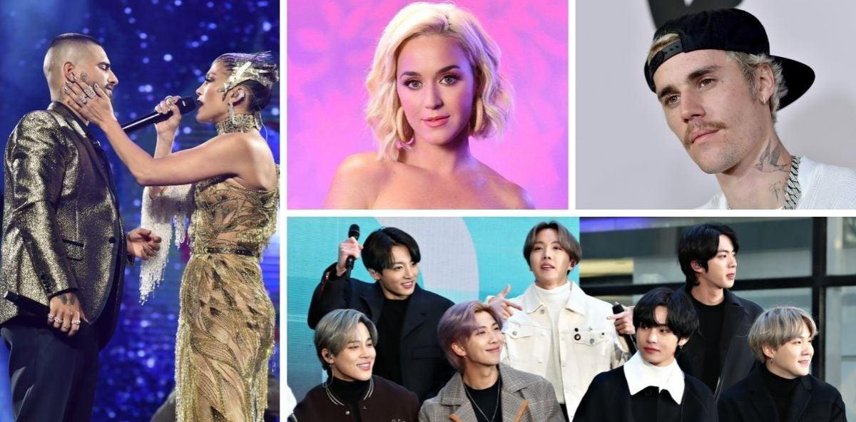 American Music Awards: Dónde y cuándo ver la gala en la que actuarán Justin Bieber, Jennifer Lopez, Katy Perry y más
