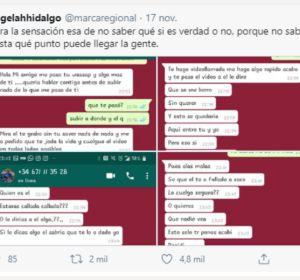 Una joven denuncia la extorsión recibida por WhatsApp