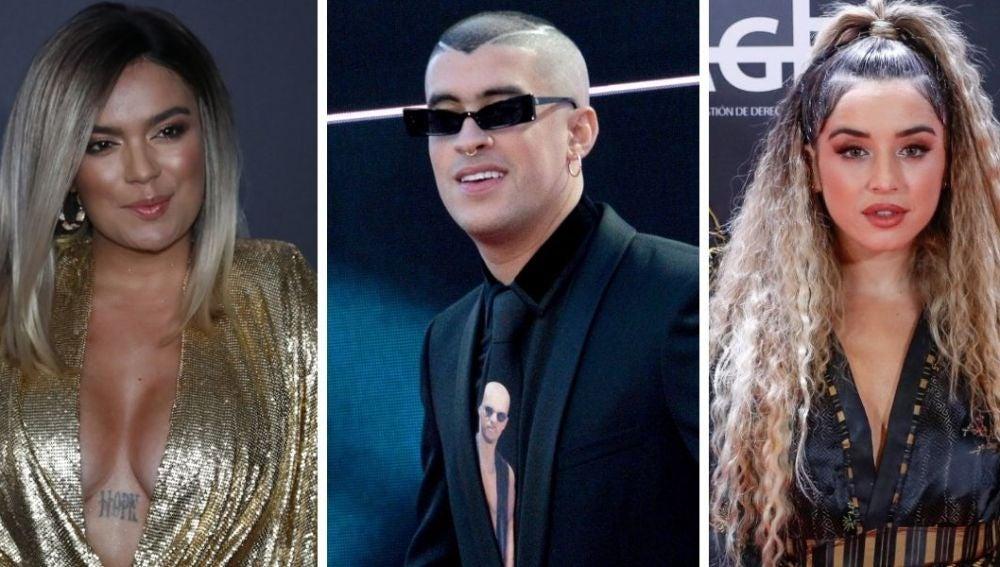Karol G, Bad Bunny y Lola Indigo, entre los artistas más escuchados en España en el 2020