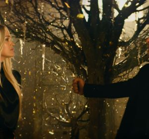 David Bisbal y Carrie Underwood en el vídeo de 'Tears Of Gold'