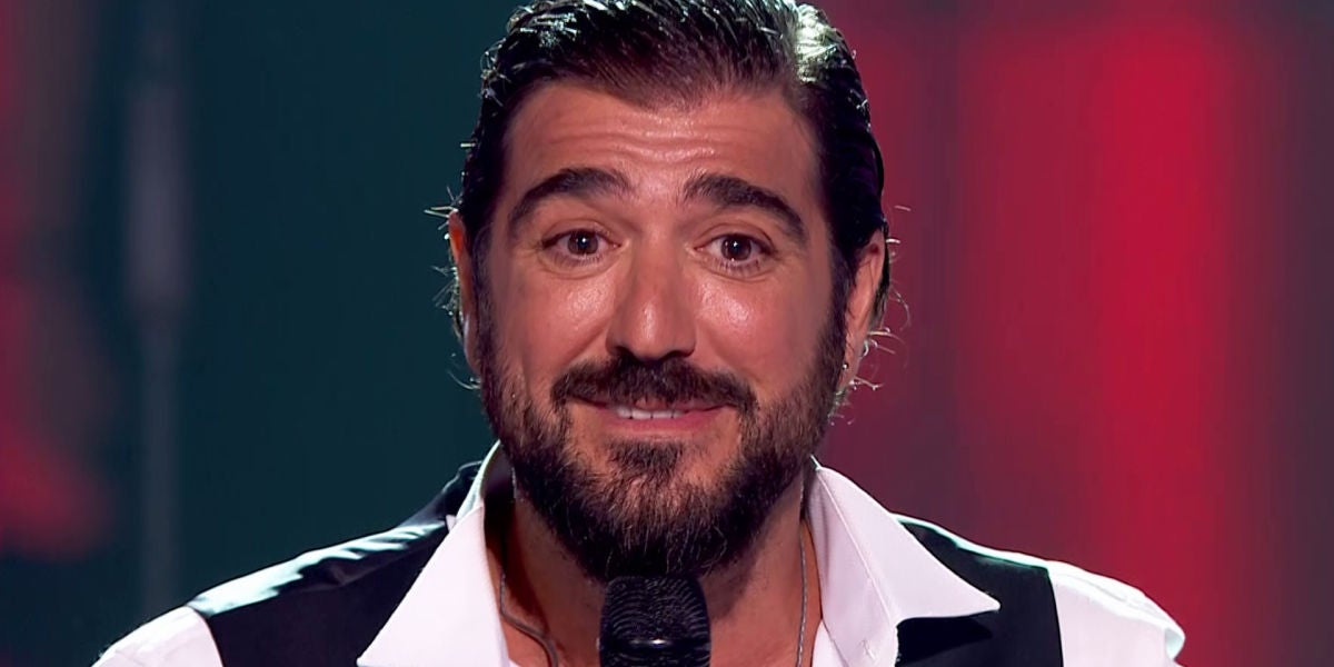 Antonio Orozco acaricia el corazón a todos en 'La Voz'
