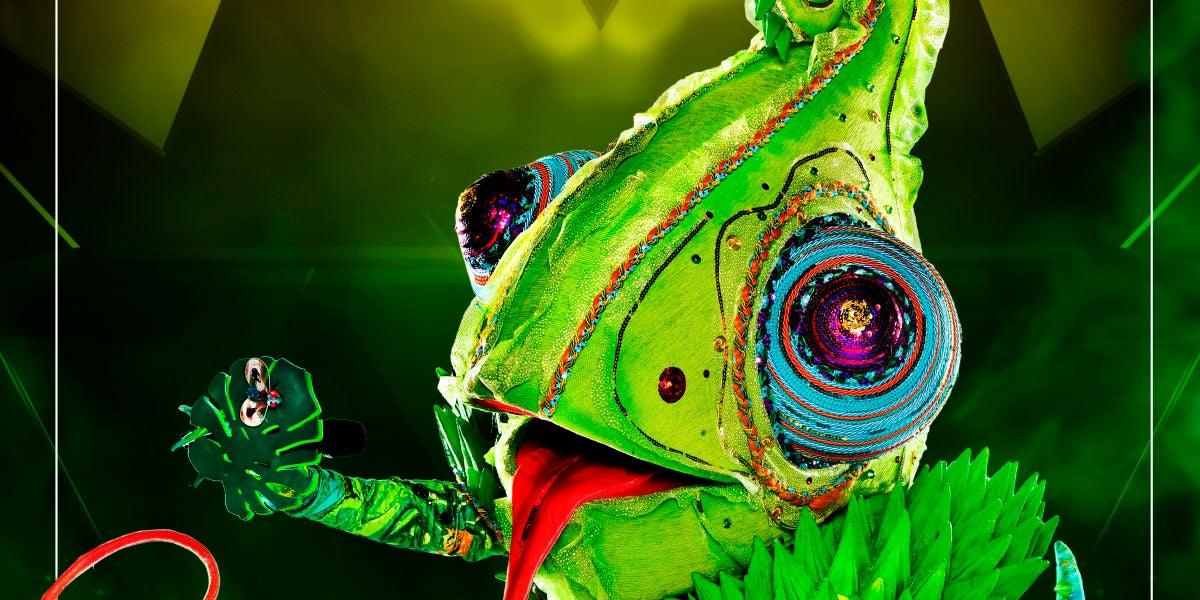 Camaleón de 'Mask singer: adivina quién canta'