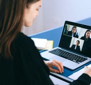 Videoconferencia en el trabajo