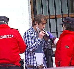 Fiesta ilegal de 70 jóvenes en un monasterio de Derio