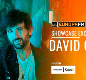 Showcase exclusivo de David Otero en Sevilla con Europa FM