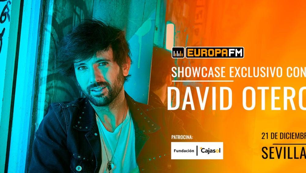 Showcase exclusivo de David Otero en Sevilla con Europa FM