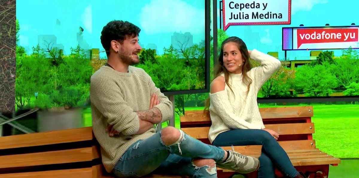 Cepeda y Julia Medina en yu