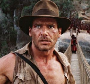 Harrison Ford en 'Indiana Jones'
