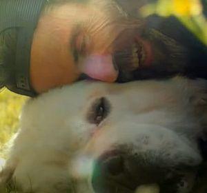 Pau Donés y su perro Fideos en 'Misteriosamente hoy'