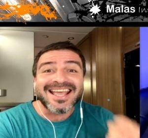Coco Pretel y Daniel del Valle en Malas Influencias