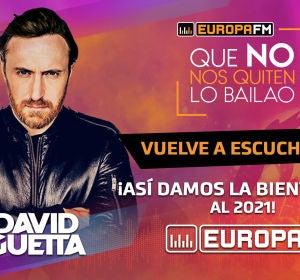 David Guetta en el especial Fin de Año: Que No Nos Quiten Lo Bailao