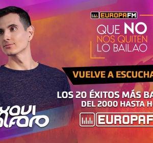 Xavi Alfaro en el especial Fin de Año de Europa FM: 'Que No Nos Quiten Lo Bailao'
