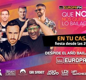 Fiesta Fin de Año en Europa FM: Que No Nos Quiten Lo Bailao