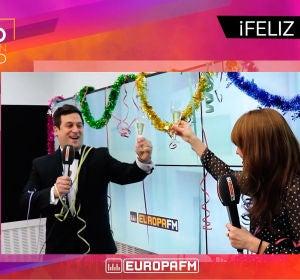 Tony Loarces y Rocío Santos dan las campanadas en Europa FM