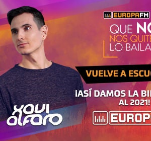 Sesión de Xavi Alfaro en el especial Fin de Año de Europa FM: 'Que No Nos Quiten Lo Bailao'