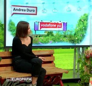 Andrea Duro y Ana Morgade en yu