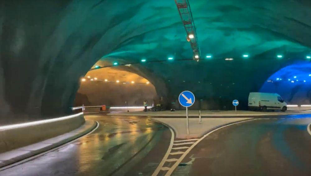 Primera rotonda del mundo bajo el océano