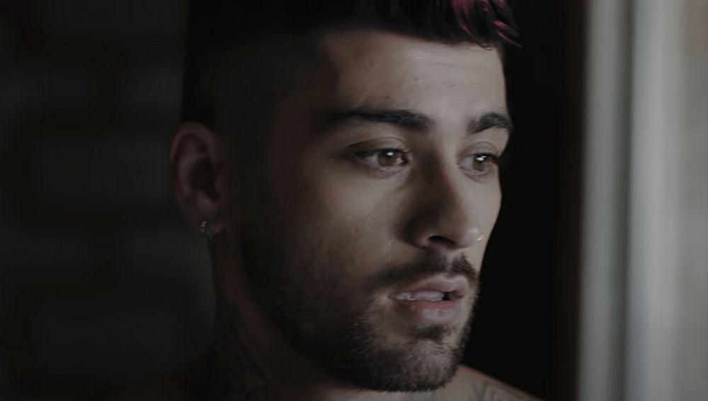 Zayn Malik en el vídeo de 'Better'