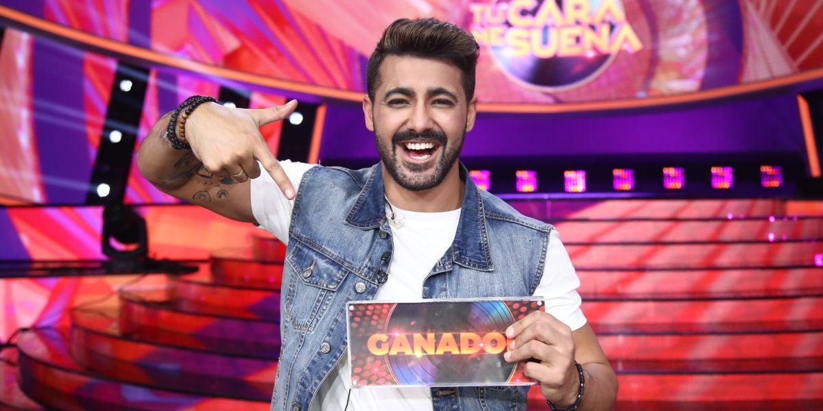 Jorge González gana la octava edición de 'Tu cara me suena'