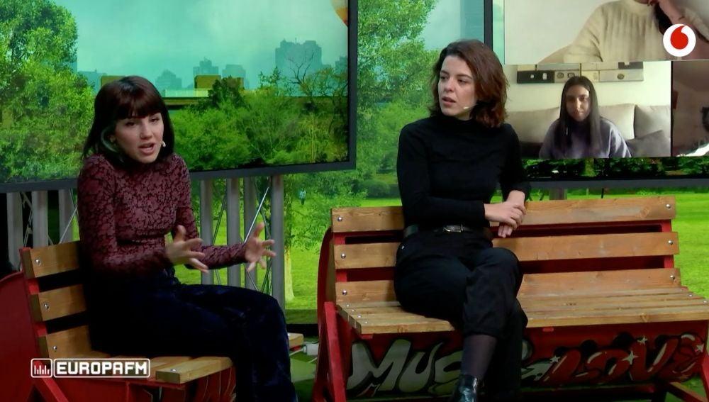 Leonor Martín y Angy Fernández en yu