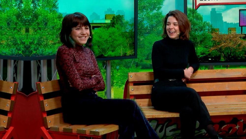 Angy Fernández y Leonor Martin