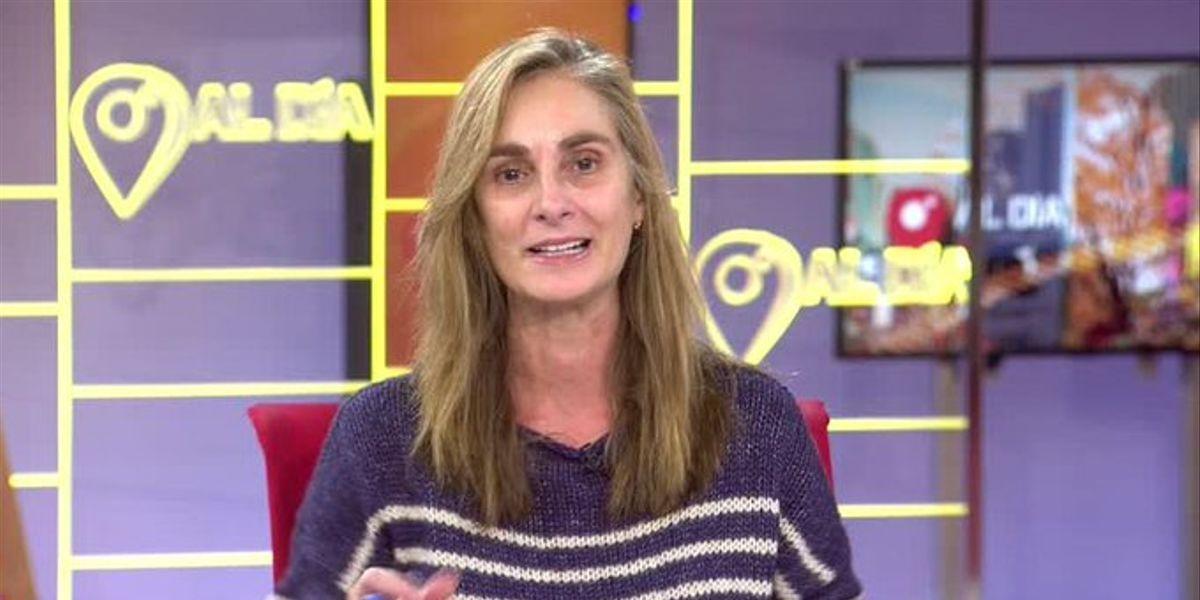 La presentadora Marta Reyero