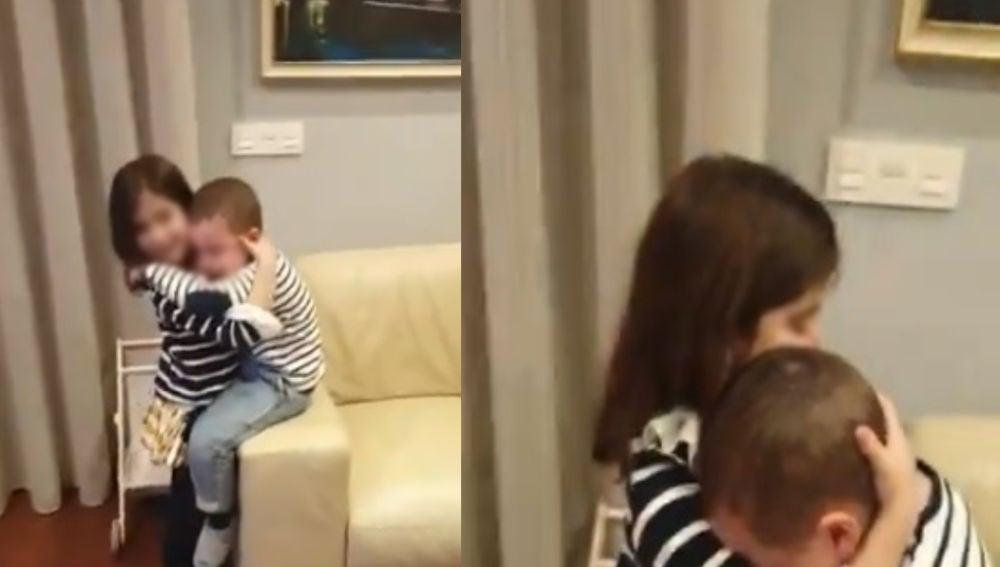 Miguel llora desconsoladamente tras la eliminación de Luis en Pasapalabra