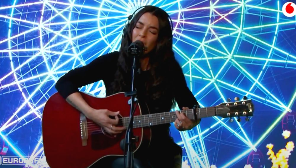 Ruth Lorenzo canta 'Crisálida' en directo en 'yu Music'