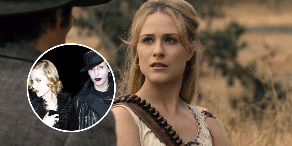 Evan Rachel Wood, actriz de Westworld, denuncia a Marilyn Manson