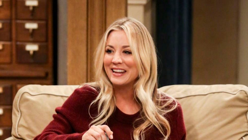 Kaley Cuoco en 'The Big Bang Theory'