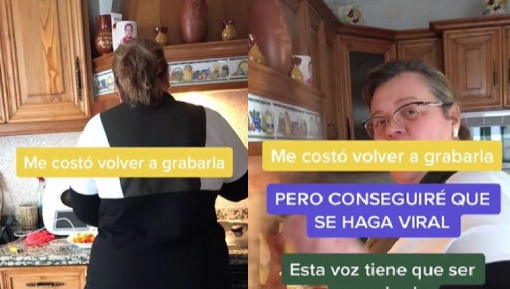 Mujer consigue hacerse viral en TikTok al cantar 'Sobreviviré' de Mónica Naranjo