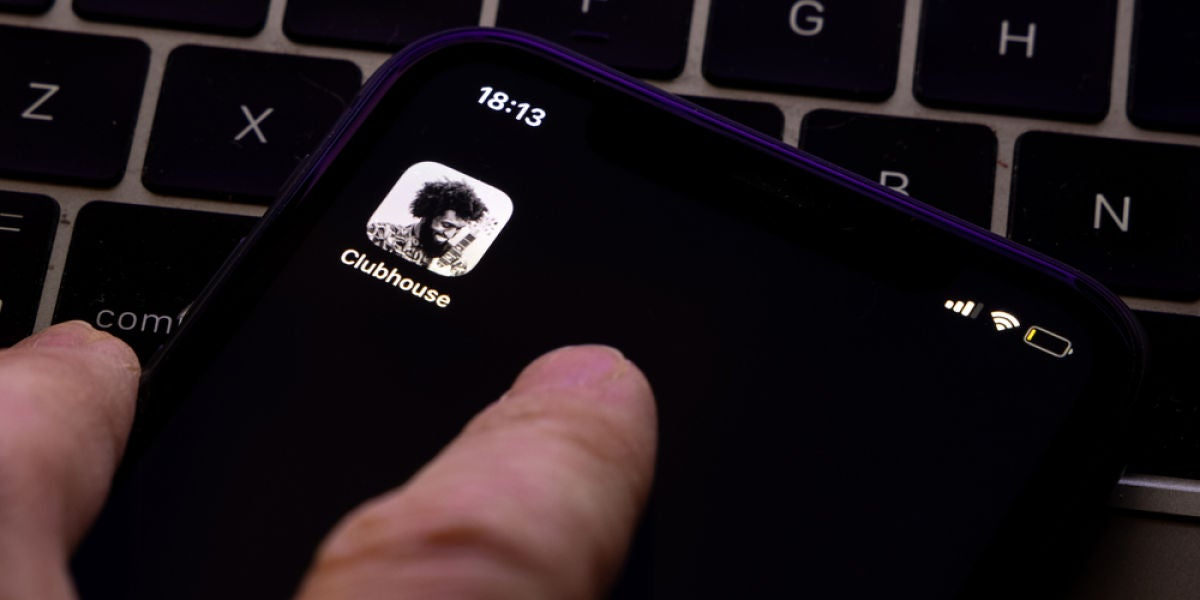 Clubhouse, app de audio