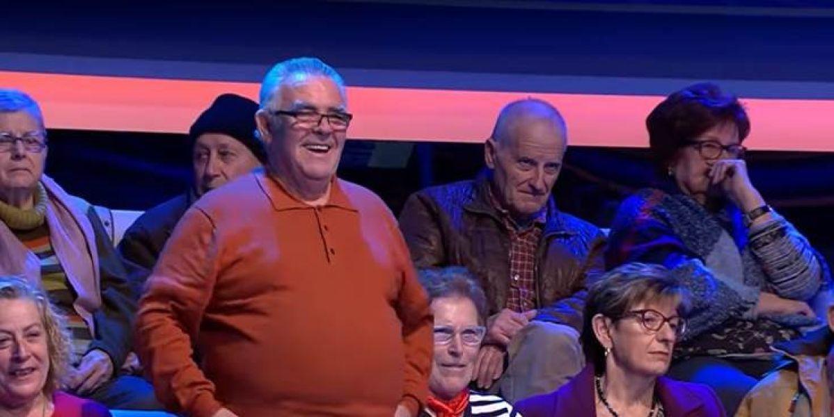 Fallece paquillo, mítico espectador de ¡Ahora Caigo! de Antena 3