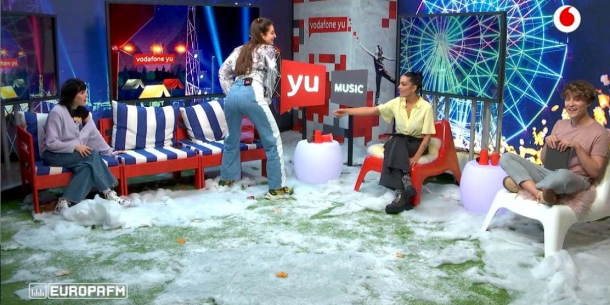 'yu Music' con Lorena Castell, Carlos Marco, Sandra Delaporte y Angy Fernández.