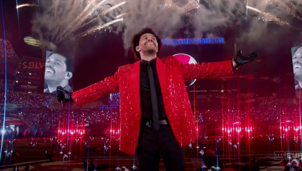 The Weeknd en la Super Bowl 2021