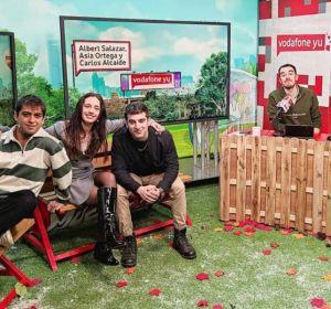 Asia Ortega, Albert Salazar y Carlos Alcaide visitan 'yu No te pierdas nada'