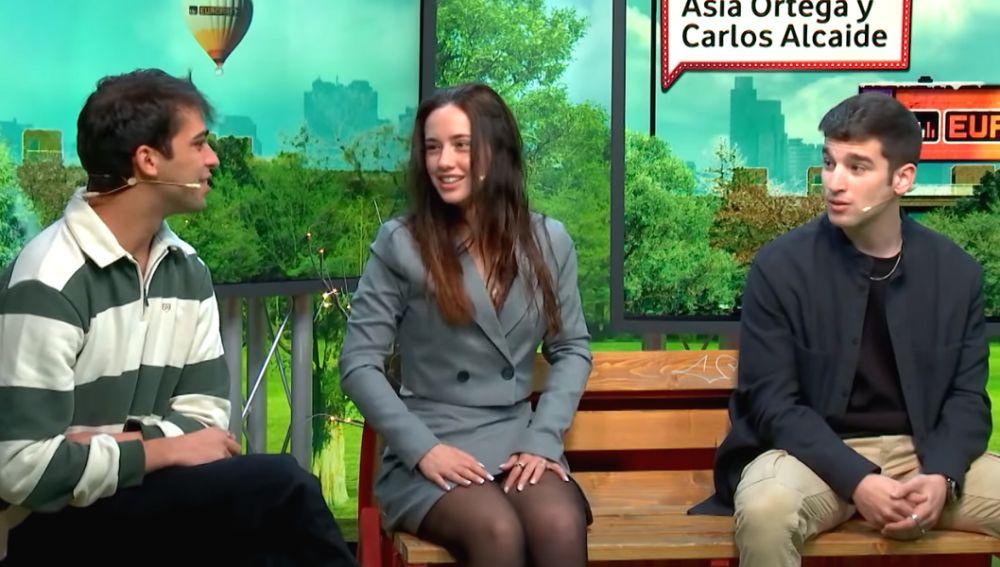 Los actores de 'El Internado: Las Cumbres' en 'yu No te pierdas nada'