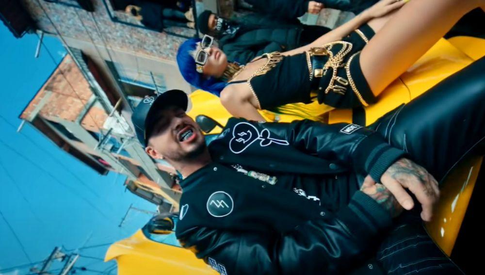J Balvin en el vídeo de Ma' G