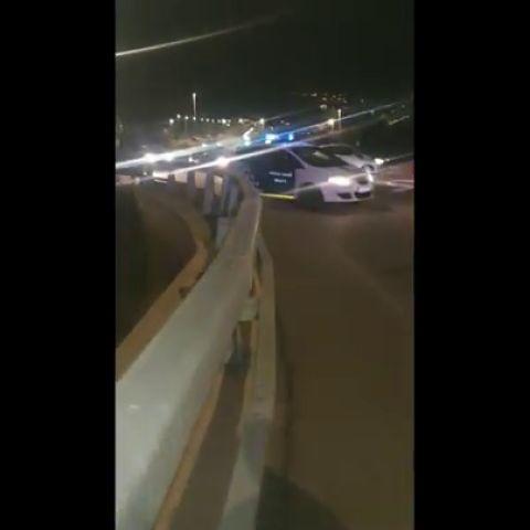 Las imágenes del accidente de Álex Casademunt en Mataró
