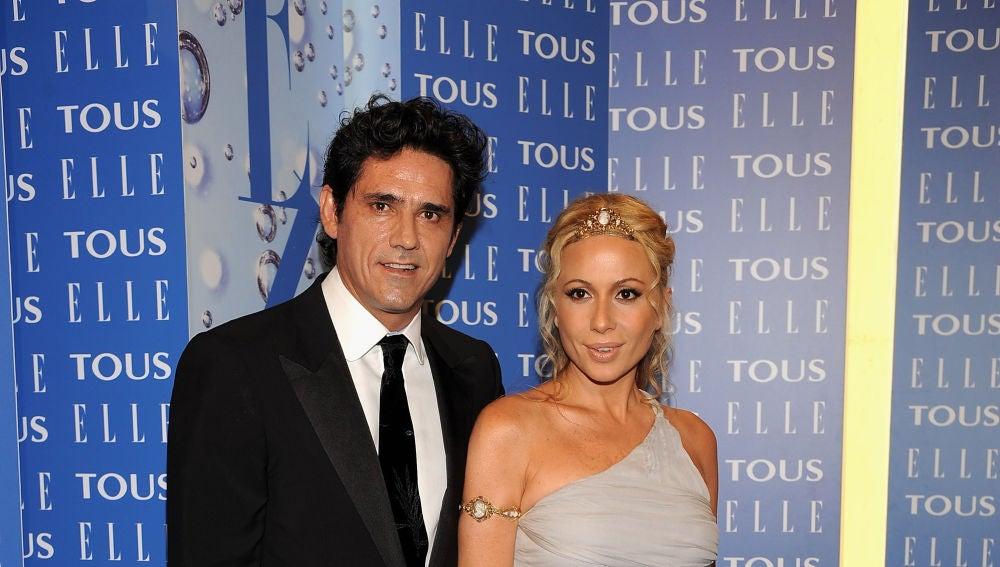 Marta Sánchez y Jesús Cabanas en 2008