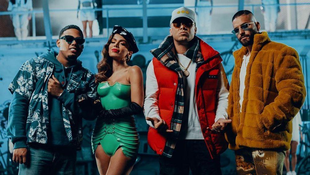 Myke Towers, Anitta, Wisin y Maluma en 'Mi Niña Remix'