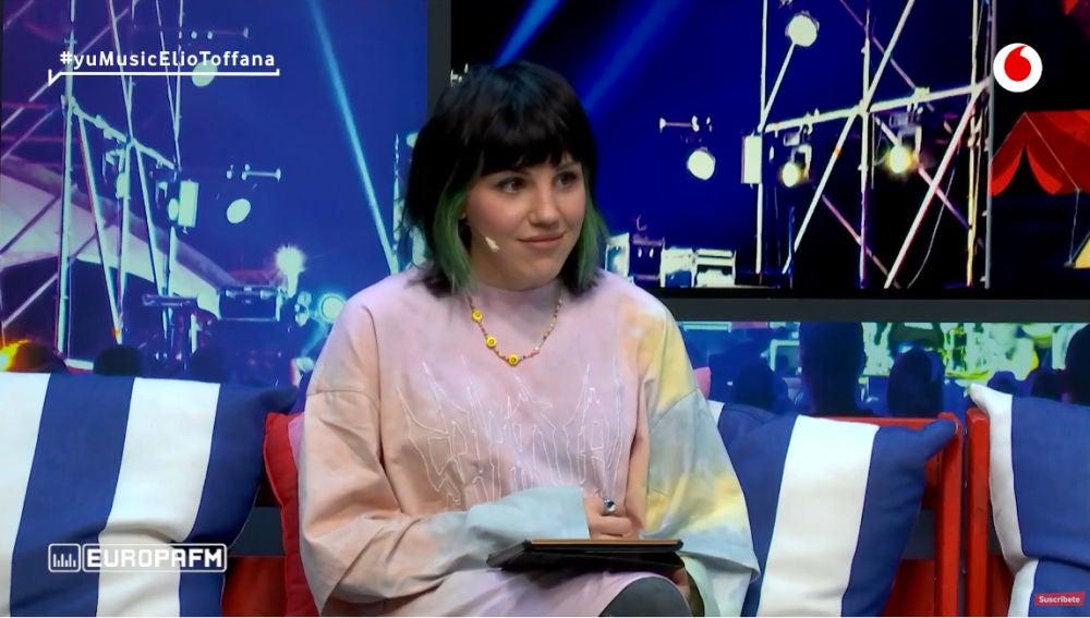 Angy Fernández en 'yu Music'.