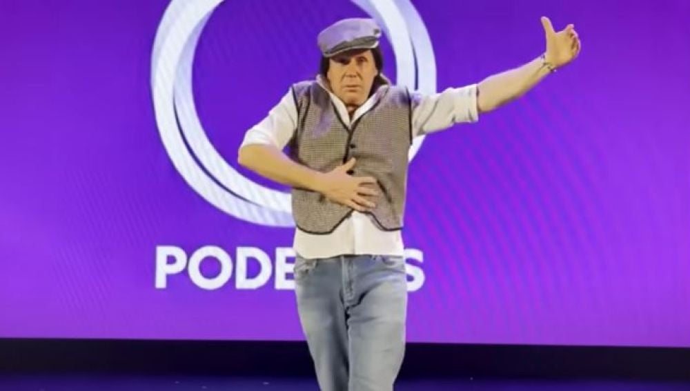 La parodia de Los Morancos del 'himno de campaña' de Iglesias
