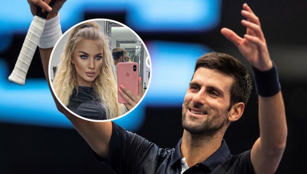La modelo Natalija Scekic revela que le ofrecieron seducir a Novak Djokovic
